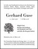 Gerhard Guse
