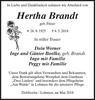 Hertha Brandt