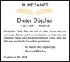 Dieter Döscher