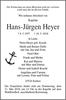 Hans-Jürgen Heyer