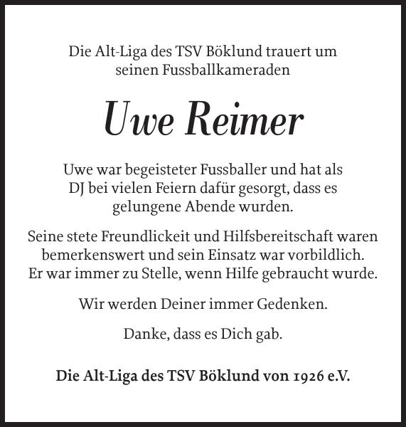 Schleswiger Nachrichten Trauer