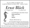 Ernst Blöck