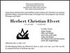 Herbert Christian Elvert