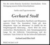 Gerhard Stoll