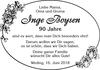 Inge Boysen