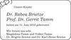 Dr. Rabea Brietze Prof. Dr. Gerrit Tamm