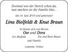 Lina Bielfeldt Knut Braun