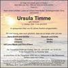Ursula Timme
