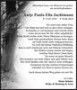 Antje Paula Ella Jachtmann