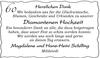60 Diamantene Hochzeit Magdalene und Hans-Heini Schilling