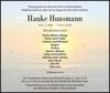 Hauke Huusmann
