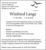 Winfried Lange