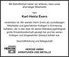 Karl-Heinz Evers