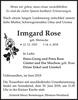 Irmgard Rose