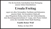 Ursula Freitag