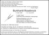 Burkhardt Rosebrock