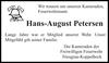 Hans-August Petersen
