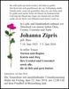 Johanna Zipris