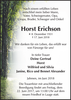 Horst Erichson