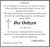 Ilse Oeltzen