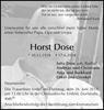 Horst Dose