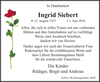 Ingrid Siebert
