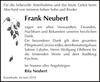 Frank Neubert