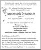 Annemarie Neumeier