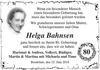 Helga Bahnsen