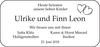 Ulrike und Finn Leon