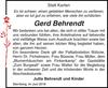 Gerd Behrendt