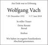 Wolfgang Vach