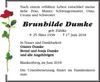 Brunhilde Dumke