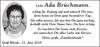 Ada Brüchmann
