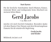 Gerd Jacobs