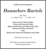 Hannelore Bartels