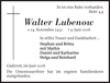 Walter Lubenow