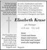 Elisabeth Kruse