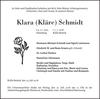 Klara Kläre Schmidt