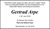 Gertrud Arpe