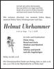 Helmut Uhrhammer