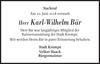 Karl-Wilhelm Bär
