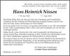 Hans Heinrich Nissen
