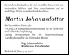 Martin Johannsdotter