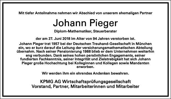 Johann Pieger