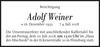Adolf Weiner