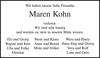 Maren Kohn