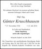 Günter Kruschhausen
