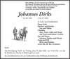 Johannes Dirks