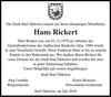 Hans Rickert